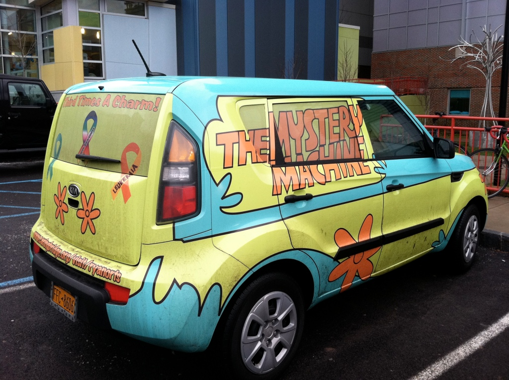 Did You See The Mystery Machine At Children S Hospital