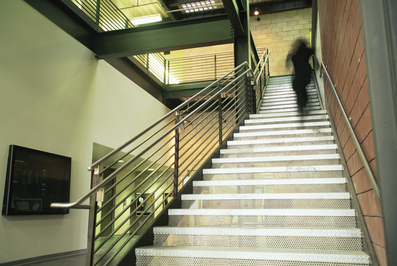 Upstate Medical Students Offer Take The Stairs Challenge