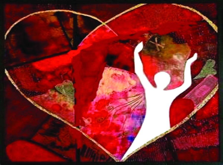 Strong heart art