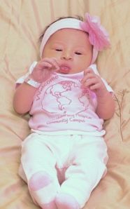 Julianna Angel Jacobs was born Feb. 9 at Birth Center at Upstate's Community Campus.