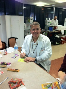 Also donating was Vincent Frechette, MD, director of the Hospitalist Program.