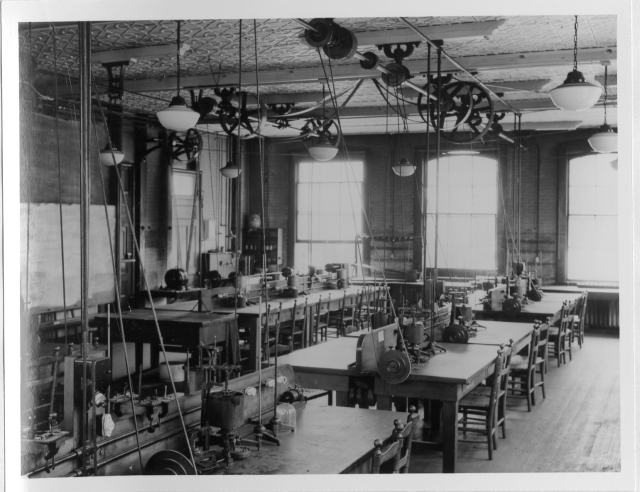 The old physiology-pharmacology lab.