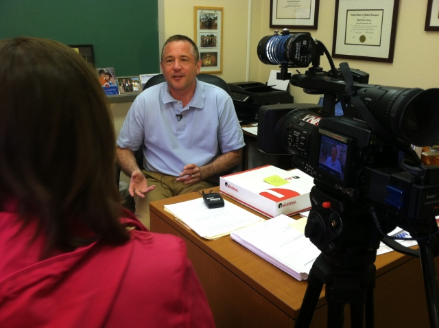Dr. Joseph Domachowske, MD is interviewed by YNN.