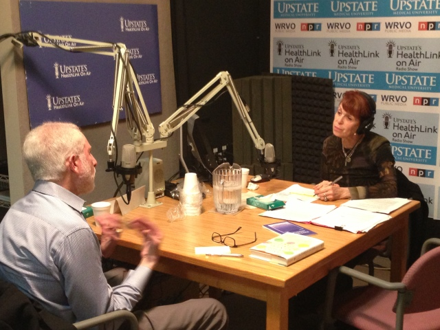 Dr. Lloyd Sederer  was interviewed for Upstate's HealthLink on Air radio show during his Syracuse visit.