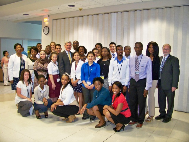 Starting July 1, 24 college students  from the city of Syracuse will begin their summer Synergy/Mercy Works internships at Upstate Medical University.