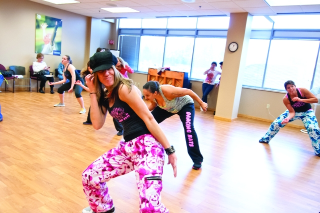 Alisa Hoff loves Zumba classes when she is not working as a pediatric nurse at Upstate.