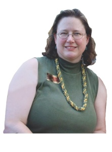 Cristina Pope before she lost the weight.