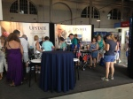 The Upstate booth is located in the Science and Industry building and is open each day from 10 AM to 10 PM.