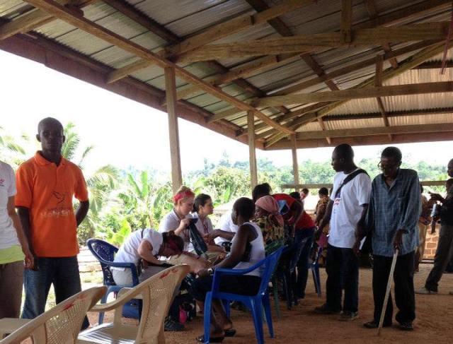 The ASAP team in Ghana in spring 2013.