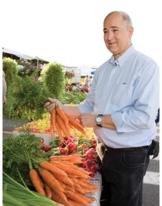 David Halleran, MD is a regular customer at the Central New York Regional Market.