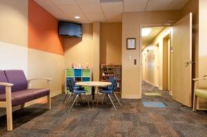 McMahon/Ryan Center waiting room