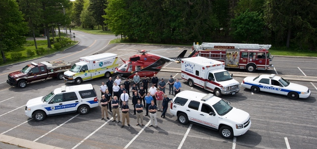 Upstate University Hospital is an integral part of emergency response throughout Central New York.