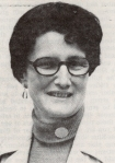 Muriel Diefendorf, auxiliary president, 1976