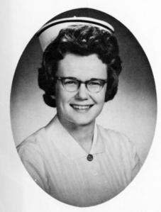 Jean Farmer, RN, 1963