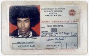 Roberts' 1973 Upstate ID.