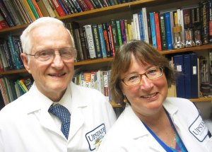 Robert Richardson PhD and Marsha Roskopf, today