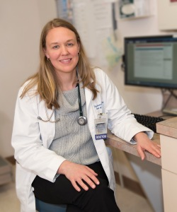 Elizabeth Reddy, MD, leads Immune Health Services at Upstate. PHOTO BY SUSAN KAHN.