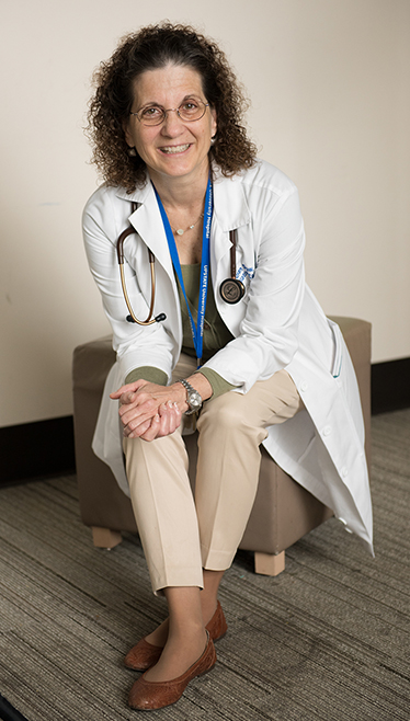 Susan Shaw, nurse practitioner (PHOTO BY SUSAN KAHN)