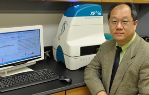 Xin Jie Chen, PhD, a professor of biochemistry and molecular biology at Upstate, is the principal investigator of a study on the physiological impact of mitochondrial dysfunction that was published in the journal Nature.
