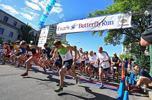 Paige's Butterfly Run, 2014