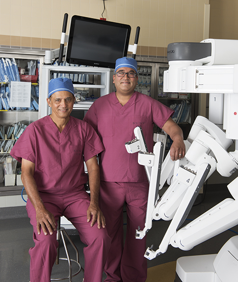 Dilip Kittur, MD (left), and Ajay Jain, MD.