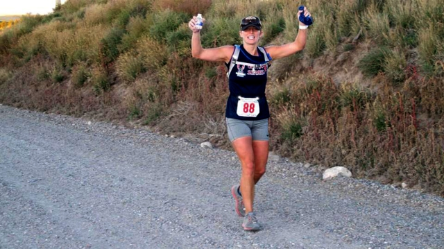 Kristen Hyer, who works in orthopedic surgery at Upstate, likes the fun, supportive and uncrowded atmosphere of ultramarathons.