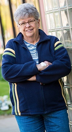 Joan Izyk, stroke survivor
