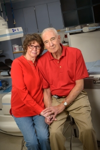 Nancy Humphrey knew what to do when her husband, Larry Deshaw displayed signs of a stroke.