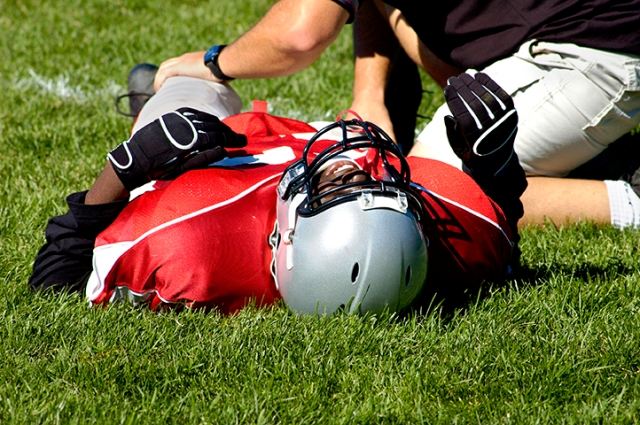It's crucial that an athlete suspected of having a concussion not return to play until he or she has been evaluated.