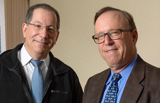 Alan Penzias, MD (left), and Michael Alper, MD, offer advanced fertility care in Syracuse.