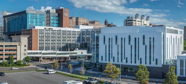 Hospital building - Cancer center