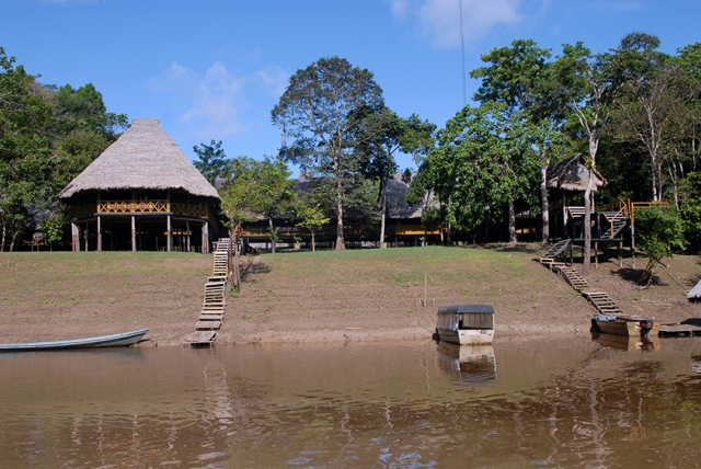 The Amazon Yarapa River Lodge.