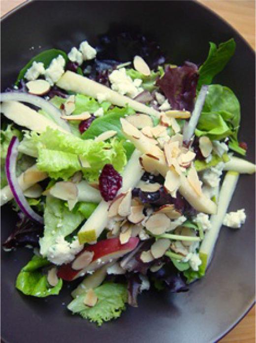 apple and pear salad