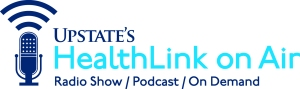Upstate's HealthLink on Air logo