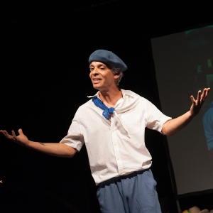 """In the program to his show, Hernández tells his audience: """"These stories are my gift to you. If you want to cry, cry. If you want to laugh, laugh. But I want to be sure that you leave the theater with part of my essence, my being, my soul."""" Above and below are some of the costumes he wears in the production. (PHOTOS BY SUSAN KAHN)"""
