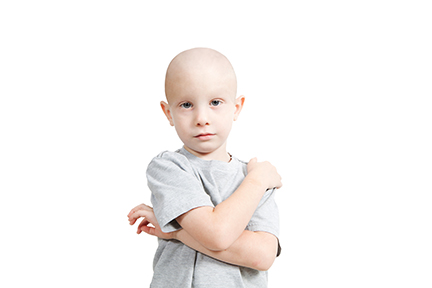 The leading cause of cancer death in children is cancers of the brain and spinal cord.