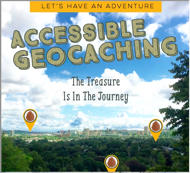 Geocaching booklet
