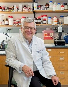 Leszek Kotula, MD, PhD (PHOTO BY WILLIAM MUELLER)