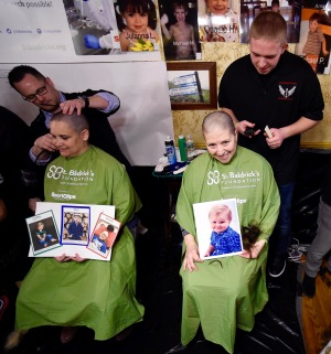 St. Baldrick's money to boost clinical trials