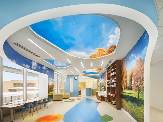The Waters Center for Children's Cancer and Blood Disorders at the Upstate Cancer Center