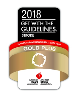 Get With the Guidelines award for stroke care