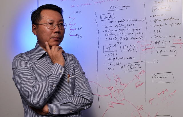Wei-dong Yao, PhD (photo by Debbie Rexine)
