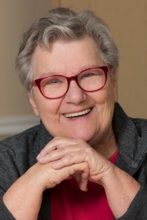 Rosecrants, a few months after her stroke. (photo by Susan Kahn)