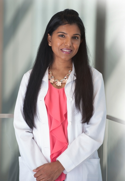 Cancer specialist Abi Siva, MD (photo by Susan Kahn)