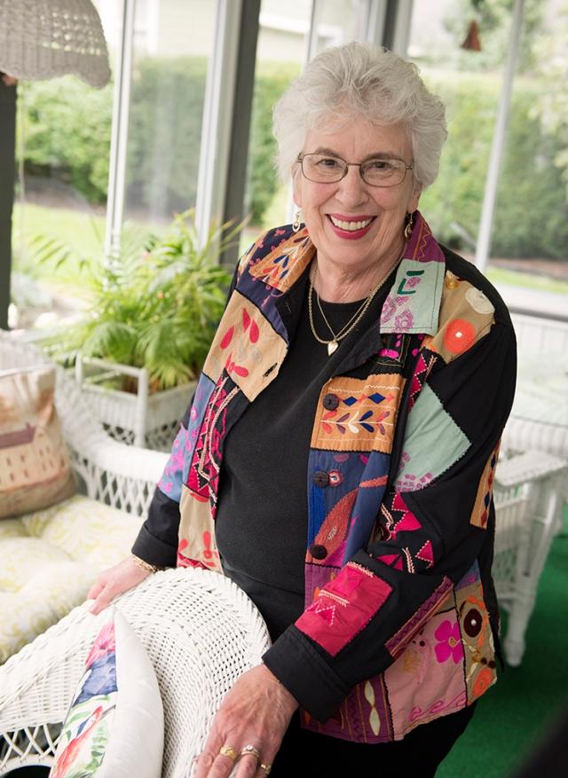JoAnn Wickman (photo by Susan Kahn)