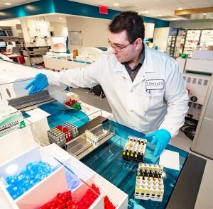 Up close: A peek at laboratory analysis