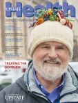 Upstate Health magazine cover, winter 2019 issue