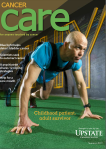 cover of summer 2019 Cancer Care magazine