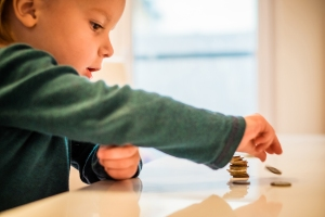 What to do if a kid swallows a coin