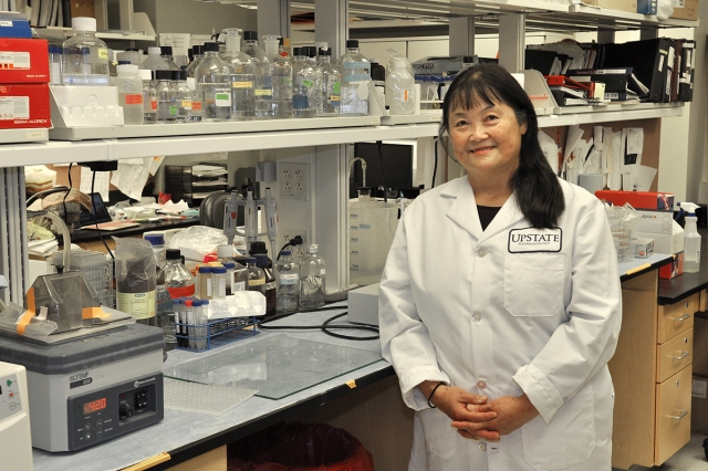 Ying Huang, MD, PhD (photo by Richard Whelsky)